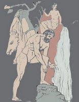 Ο καθαρισμός των στάβλων του Αυγεία (από ανάγλυφο, Ρώμη)
